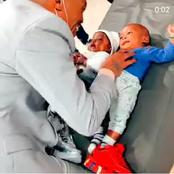 Somizi got alot of fans attention after a recent picture playing with baby's