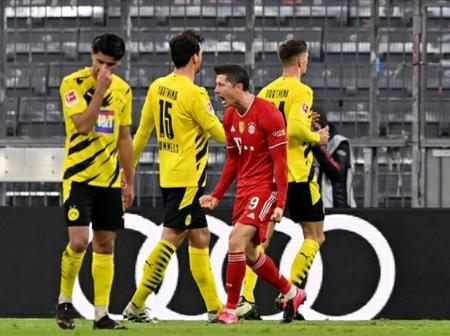 Lewandowski hat-trick sees Bayern punish BVB