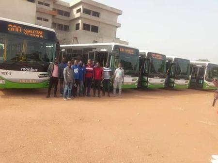 Transport Urbain : la Sotra fait sont entrée à Bouaké