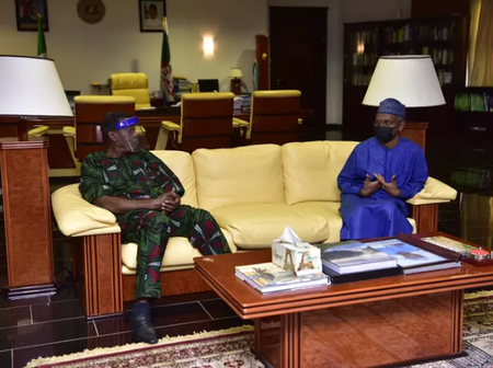 General Overseer of the Redeemed Christian Church of God (RCCG), Pastor E.A. Adeboye Meets El-Rufai