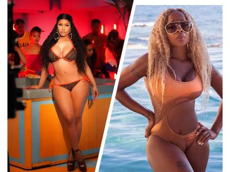 Between Nicki Minaj And Mary J. Blige, Who Slays Better On Bikini Outfit?(Photos)