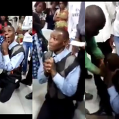 He was caught stealing from a Church's offering bag, what the members did next caused reactions