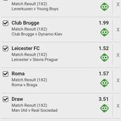 Win Massively Tonight With These Five Best Of The Best Multibets With GG, Over 2.5 Goals And High Odd