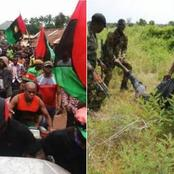 Imo: Days After IPOB Members Was Arrested, See What The Amry Found That Sparked Reactions