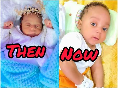 See Photos Of Regina Daniels' Son That Shows He Is Growing Graciously
