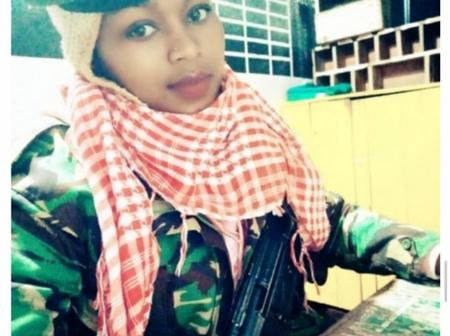The finest Kenyan Female police officer that every man wants to cuff