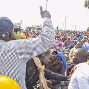 Hustler! DP Ruto Brings Nandi County to a Standstill as Residents Welcome Him(Video)