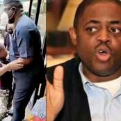[VIDEO] See The Moment FFK's Son Refuses To Leave Him While He Was About To Go Out
