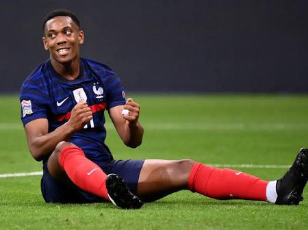 What Anthony Martial Did For France That Has Send Manchester United Fans In Delirium
