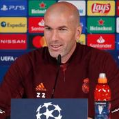 MADRID VS CHE: Check Out What Zinedine Zidane Said On Facing Chelsea In Semi-final