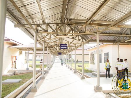 More Photos: Check Out This Well Furnished Hospital Commissioned By Prez Nana Addo In Nsawkaw