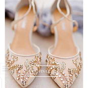 Wedding bells: Glittering and perfect wedding shoes for Brides to Be