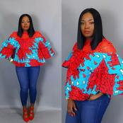 Ladies, upgrade your wardrobe with one of these 8 Cute Ankara Blouses (Pics)