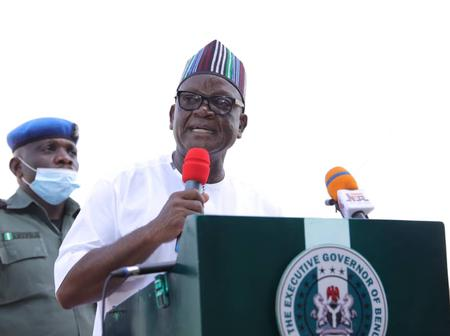 Health: See How Gov. Ortom Proactiveness is serving Benue Peoples lives.