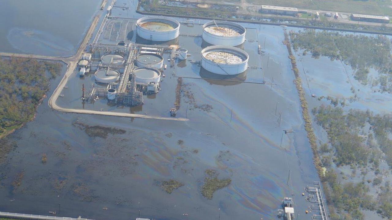 Hurricane Ida oil spills 'mind-boggling,' but likely not as bad as Katrina, Rita