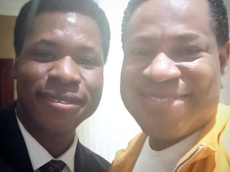 Photos of Pastor Chris Oyakilome's Look-alike Nephew