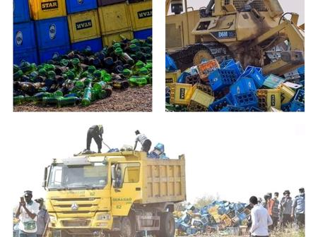 Reason for destruction of 1,975000 beer bottles in Kano state and the objective of Hisbah