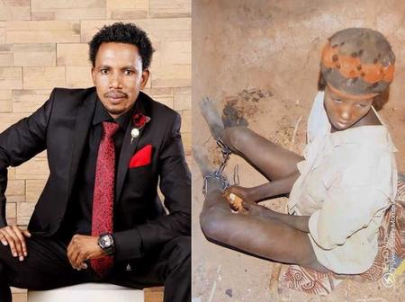 Senator Abbo sponsors treatment of a mad woman, who has been chained for years (photos)