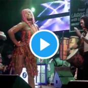 Video: See how fans reacted as DJ Cuppy releases throwback video performance at Fela's shrine