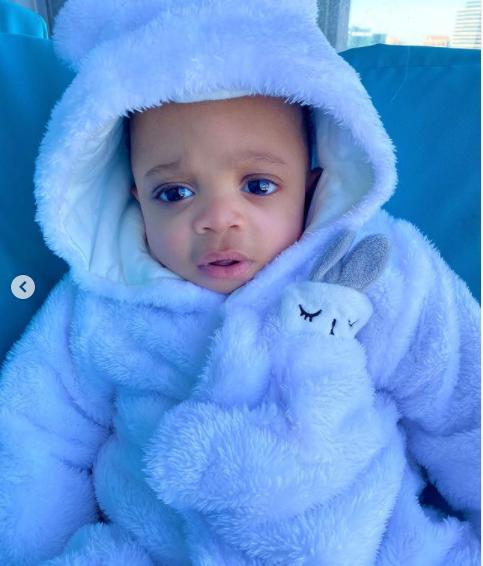 BBNaija star, Nina shares new photos of her son Denzel