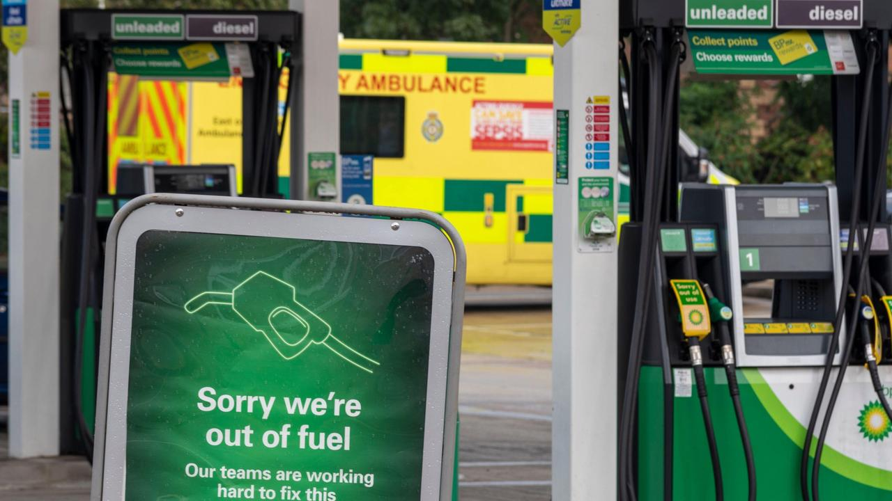 Patient concerns as petrol shortage stops NHS staff getting to work