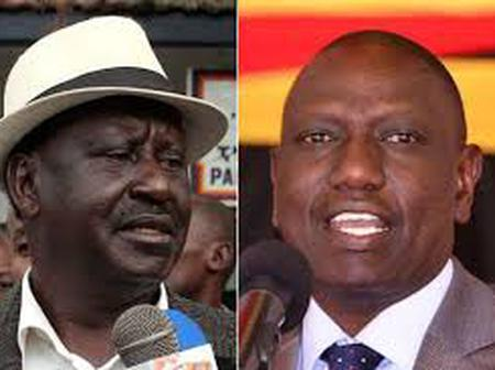 Raila -Ruto Possible Pact Troubles Ruto's Supporters InThe Mount Kenya Region