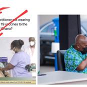 Few Hours After Akufo-Addo Took The Vaccine, See What Ghanaians Did To Him That Got People Talking