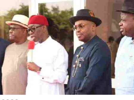 South-South Govs to Buhari: Our Resources are used to Develop the North and Other Regions