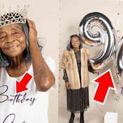 See Adorable Photos From Birthday Photoshoot Of A 90-yr-old Grandma That Got Reactions On Twitter