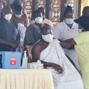 Covid-19 Vaccination: Ex-President And Otumfour Also Join List Of Officials To Receive The Vaccine