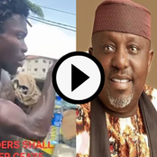 See What A Shirtless Man On The Street Has To Say About Rochas Okorocha (Video)