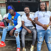 Willy Paul And Bahati Elicit Reactions Online After Enjoying A Bromance Moment Together.
