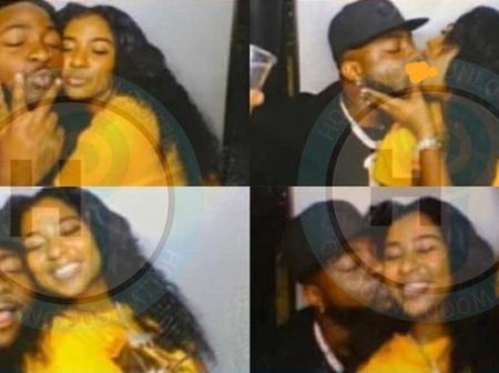 Davido Spotted Kissing His New Girlfriend, Mya Yafasi, at a Party in United States