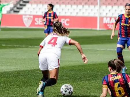 Oshoala's Barca Beat Toni Payne's Sevilla To Stay Up The Spanish Table, See Where Sevilla Stands