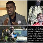 See The Letter Reno Omokri Wrote To Boko-Haram Leader, Shekau About The Pastor In Their Captivity