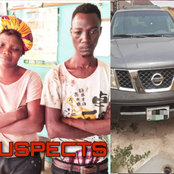 Man & Woman Confessed Being Part Of A Robbery Gang That Invaded Pastor's House & Stole A Car in Ogun