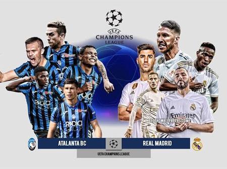 Atalanta vs Real Madrid today's clash