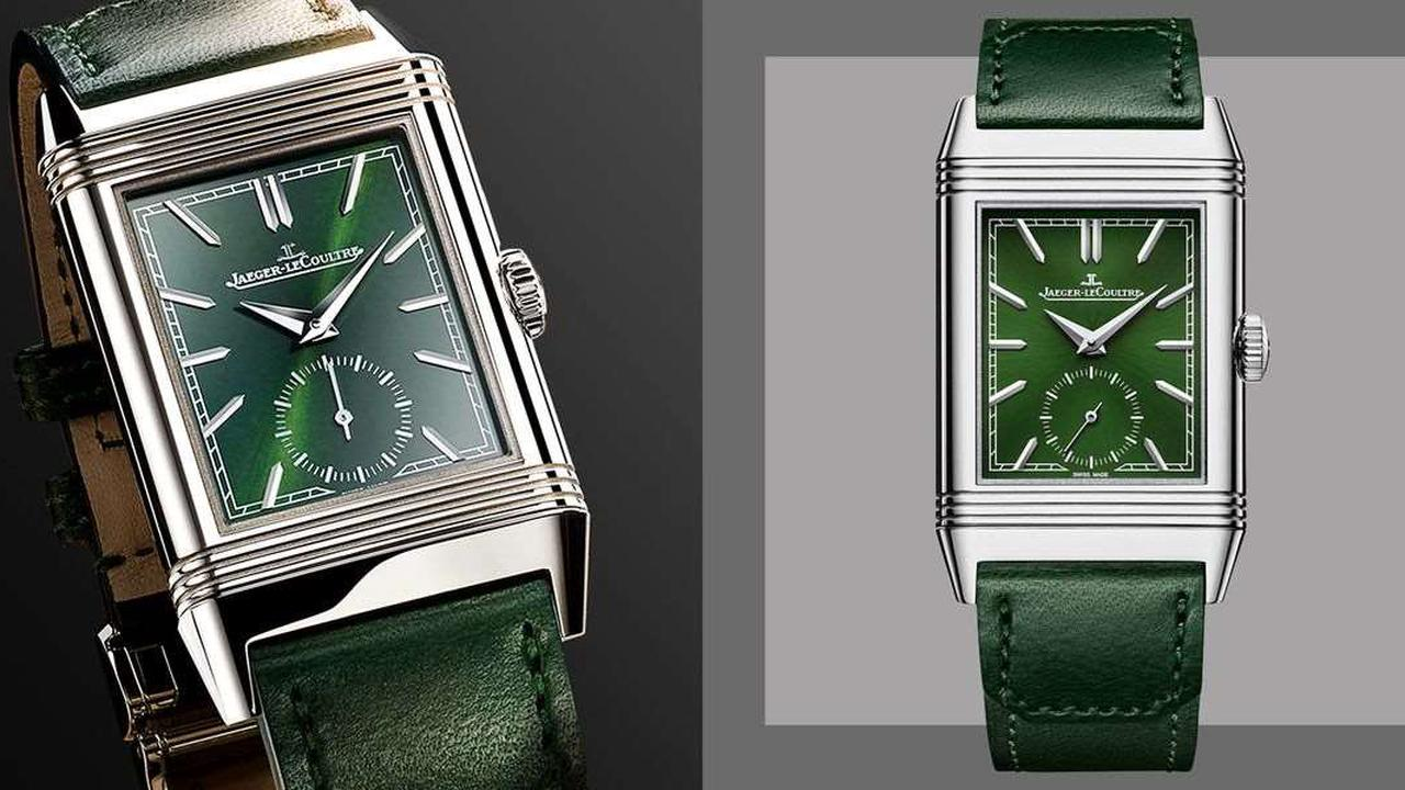 Jaeger-LeCoultre's New Reverso Tribute Small Seconds Pays Homage to the Original Icon