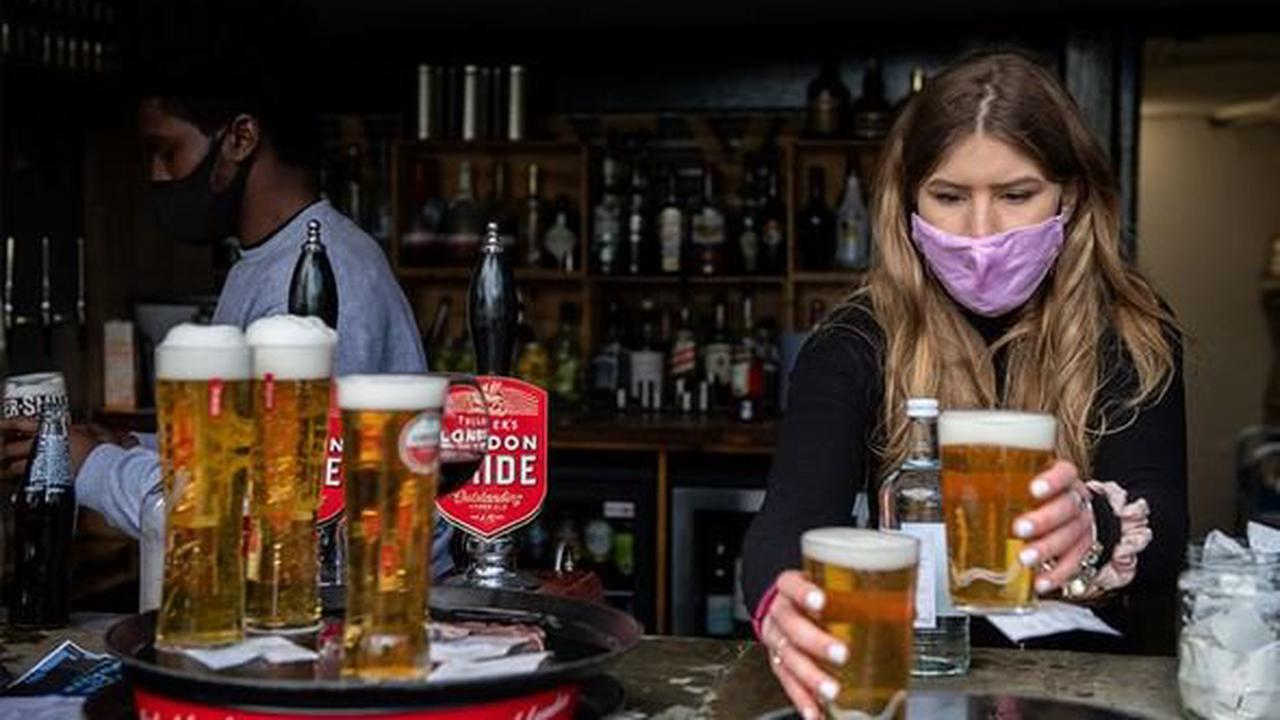 Can pubs show sport outside?