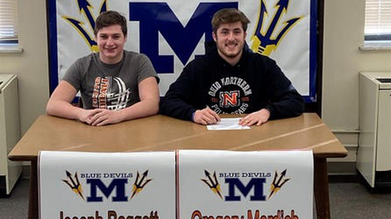 McDonald football players heading to college