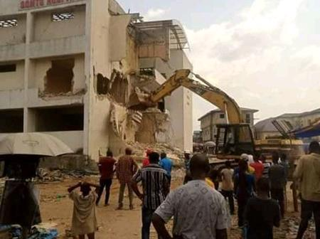 See The Hospital In Owerri Imo State Governor Demolished (Photos)