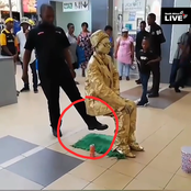 This Man Did Not Sit on Air for Hours, See The Trick he Did That Made people believe He Sat On Air