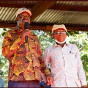 Raila Meets His Former Prison Warden at Shimo La Tewa Prison in Mbololo, Kilifi