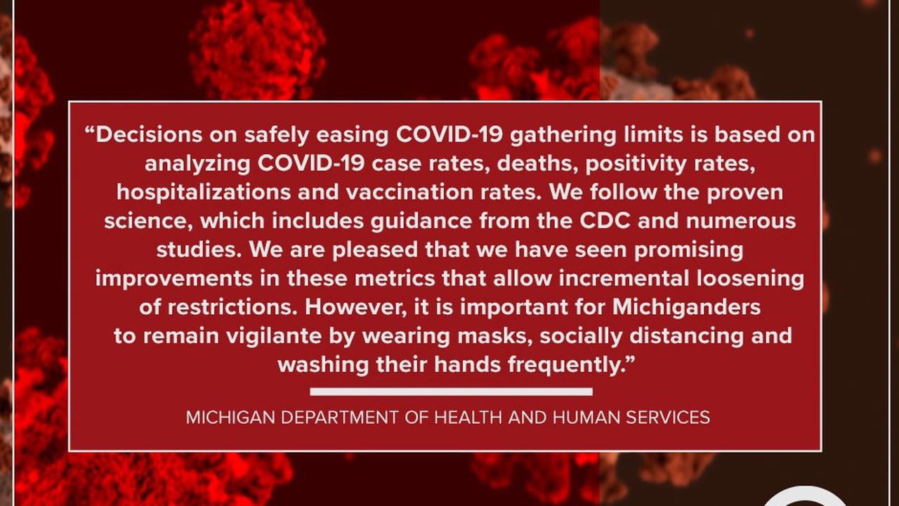 Whitmer administration coming under fire over how Michigan COVID restrictions are determined