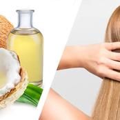 Checkout These Wonders Of Coconut Oil On The Hair, See It's Effects!