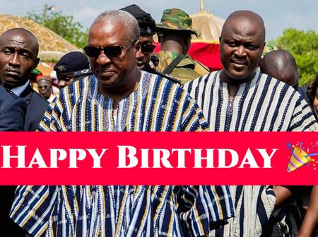 Mahama Is 50 Years Old Today, Check Out What He Has Achieved (Photos)