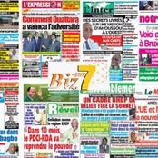 Côte d'Ivoire : titrologie de ce 25 janvier 2021, voici les images