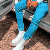 Hizo Ndio Gani! Otile Brown's Shoes That Have Caused Mixed Reactions Online