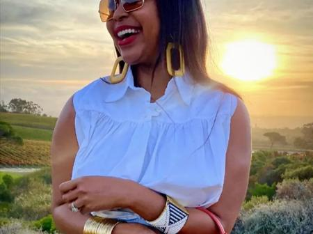 Minnie Dlamini-Jones left fans thunderstruck with her latest beautiful picture on social media.