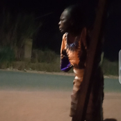 VIDEO: Drama On Highway As An Old Woman Reigned Curses On A Yahoo Boy For Doing This To Her